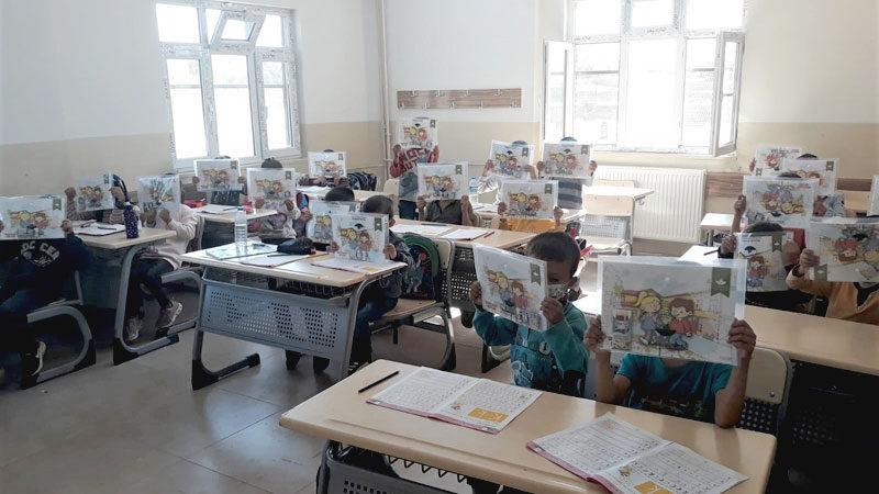 Şırnaklı öğrencilerden Osmangazi'ye teşekkür