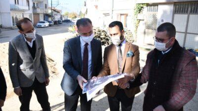 Alibeyköy'ün meydanı yenileniyor