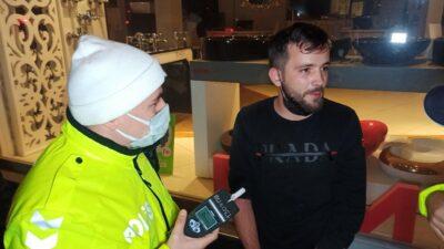 Bursa'da alkollü sürücü yakalanınca bakın ne dedi?