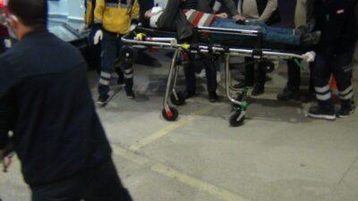 Bursa'da ani manevra yapan otomobil kazaya yol açtı gitti