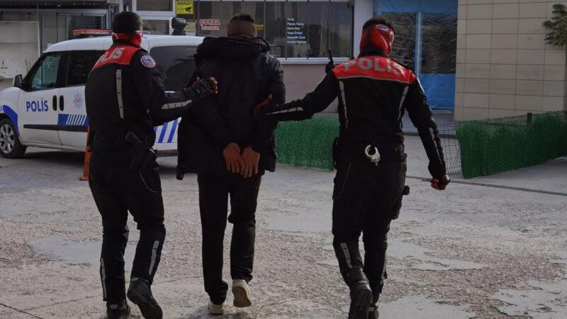 Yer: Bursa… Boş arsada uyuşturucu kullanırken yakalandı