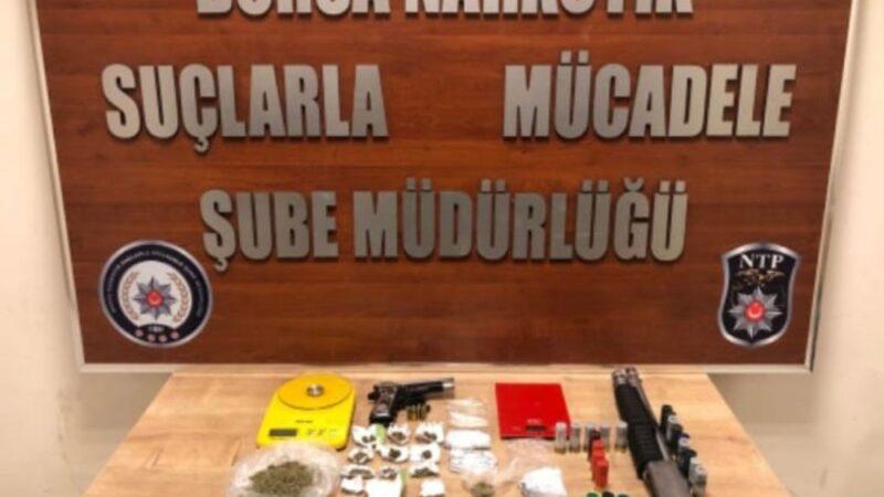 Bursa'da 500 polisle dev narkotik operasyonu