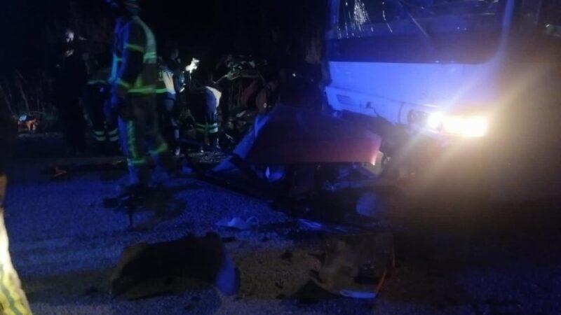 Bursa'da korkunç kaza: 2 genç hayatını kaybetti