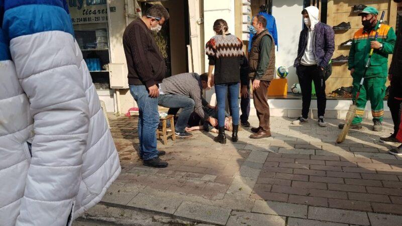 Bursa'da merdiven temizlerken canından oluyordu