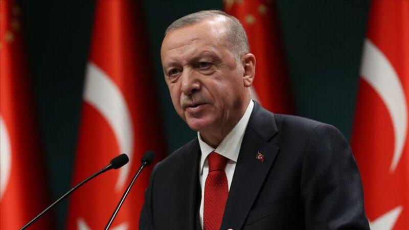 Erdoğan: Türk ekonomisi toparlama sürecini başarıyla yürütüyor