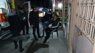 Bursa'da dükkan sahibi ile müşteri kavgası kanlı bitti!