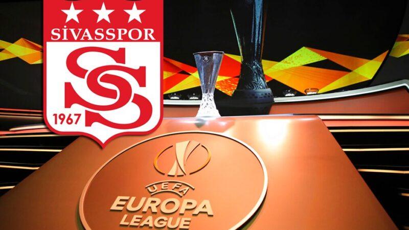 Avrupa Ligi'nde 3. hafta! Sivasspor'un rakibi…