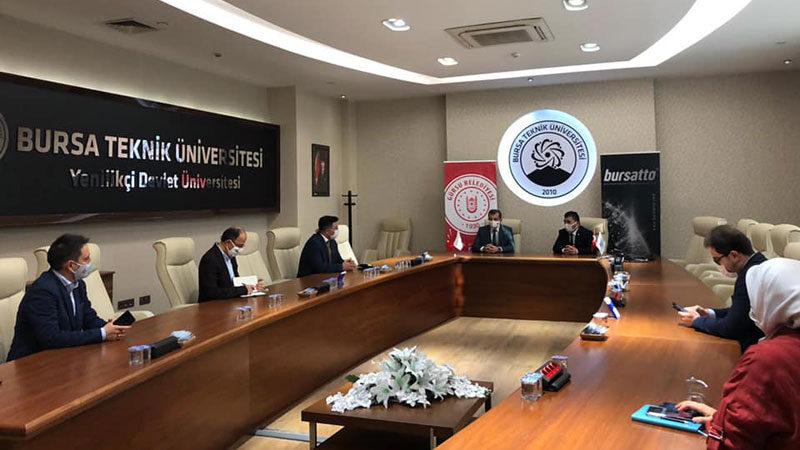 Bursa Teknik Üniversitesi'nden genç ufuklara destek