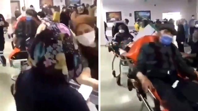 'Korona hastaları sedyede bekletiliyor' diye paylaştılar, gerçek çok başka çıktı