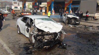 Bursa'da feci kaza! İşte o görüntüler…