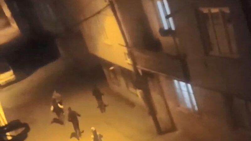 Görüntüler Bursa'dan… Polisten böyle kaçtılar