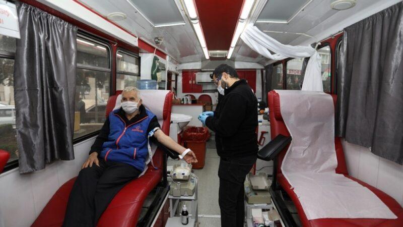 Kızılay Haftası kan bağışı kampanyasıyla kutlanıyor