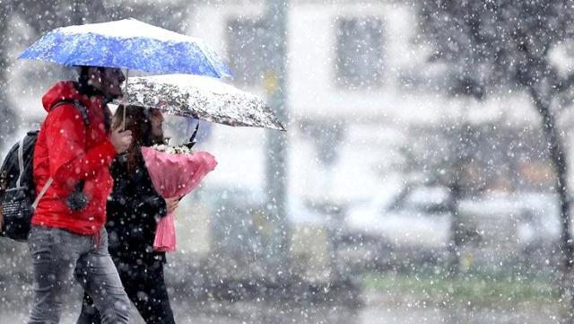 Meteoroloji bu illeri uyardı! Sağanak ve kar yağışı geliyor…