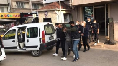 Bursa'da uyuşturucu operasyonu: 6 tutuklama