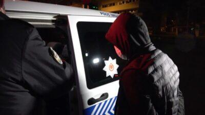 Bursa'da sabah cezaevinden çıktı, akşam gözaltına alındı