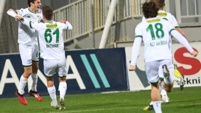 İzmir'deki maçta ikinci yarı… Haydi Timsah hız kesme…