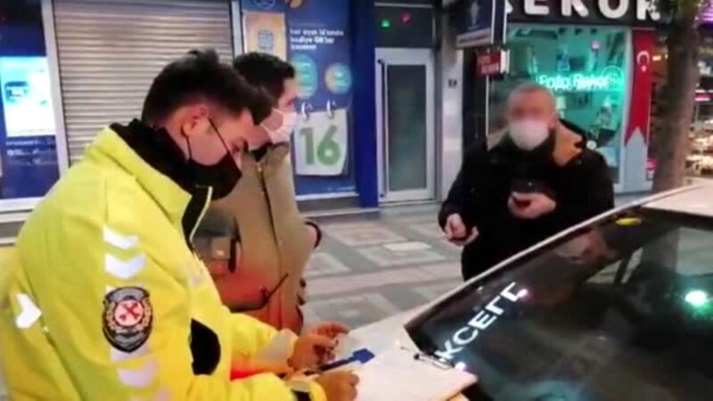 Bursa'da sokağa çıkma kısıtlamasına uymayanlara para cezası kesildi