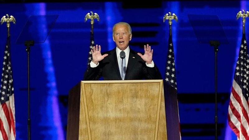 Biden'dan zafer konuşması