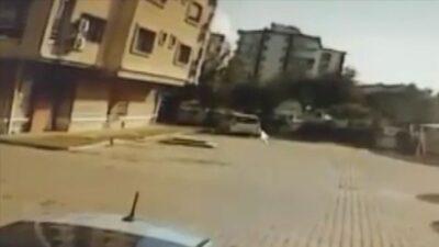 İzmir'deki depremden yeni görüntü! Böyle yıkıldı