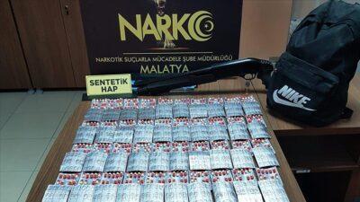 Malatya'da uyuşturucu satıcılarına 'şafak' operasyonu: 12 gözaltı