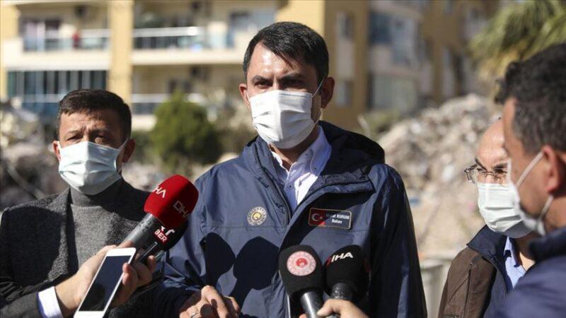 Bakan Kurum'dan flaş İzmir açıklaması
