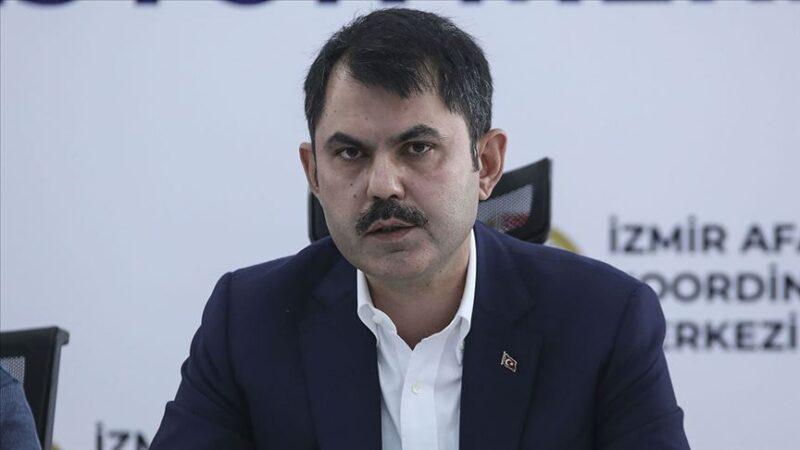 Bakan Kurum açıkladı: İzmir'de bugüne kadar…