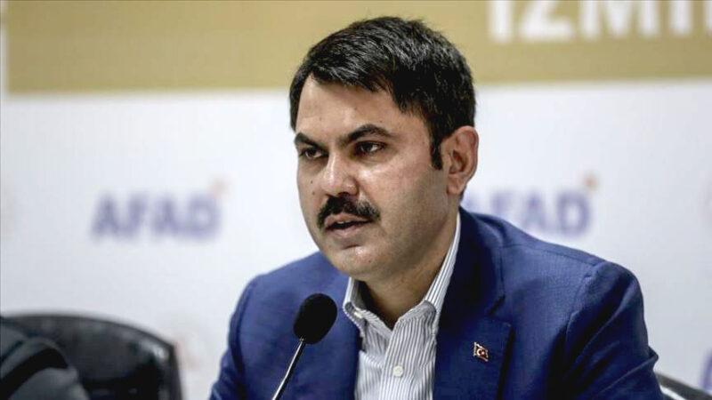 Bakan Kurum'dan İzmir açıklaması