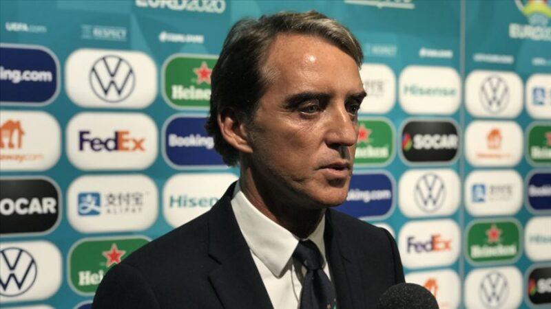 Mancini'nin Covid-19 testi pozitif çıktı