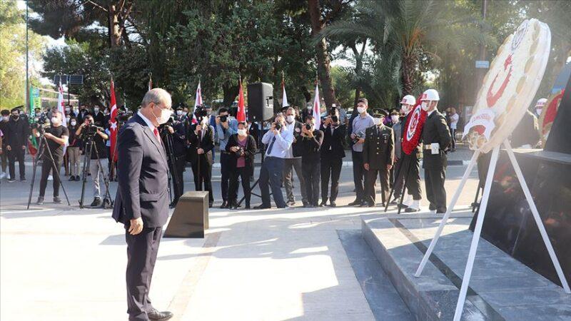 Büyük Önder Atatürk KKTC'de anıldı