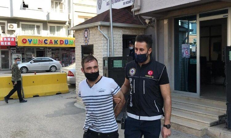 Bursa'da uyuşturucu operasyonu: 1 tutuklama