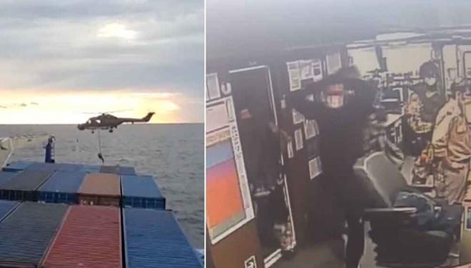 Doğu Akdeniz'de skandal! Türk gemisine hukuk dışı arama