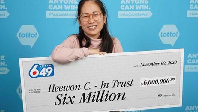 Kanada'da dört hemşireye 6 milyon dolarlık büyük ikramiye çıktı