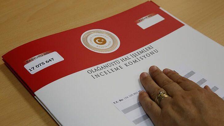 OHAL Komisyonu 112 bin 310 başvuruyu karara bağladı