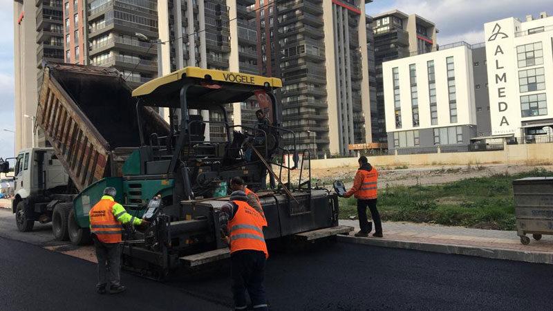Panayır sokakları yenilendi