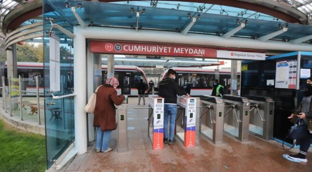 Kayseri'de toplu ulaşımda HES kodu uygulaması