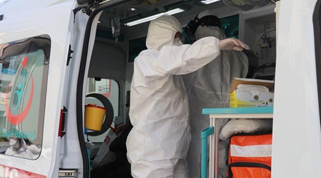Karantinadaki hastaya ilaç götüren filyasyon ekibine saldırı