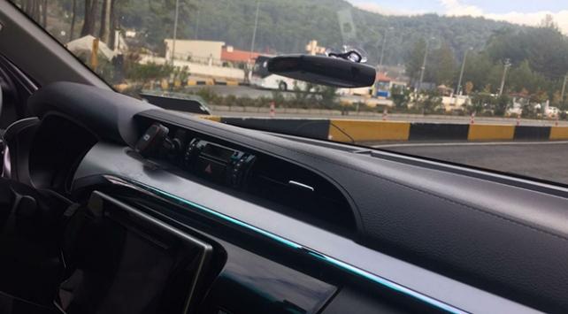 Aracında radar tespit cihazı bulunan sürücü gözaltına alındı