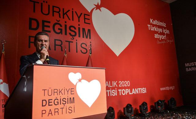 Mustafa Sarıgül partisinin adını açıkladı
