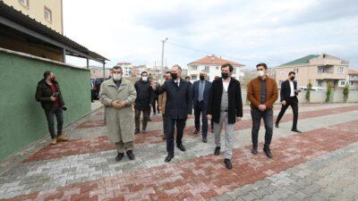 Miraç Camisi'nin çevre düzenlemesi yapıldı