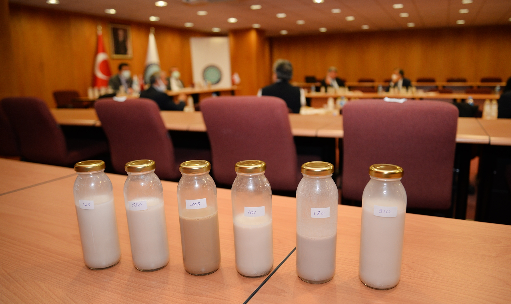 Uludağ Üniversitesi'nde ceviz suyundan süt ve yoğurt yapıldı