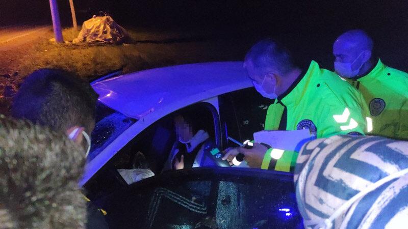 Bursa'da alkollü sürücü kaza yaptı