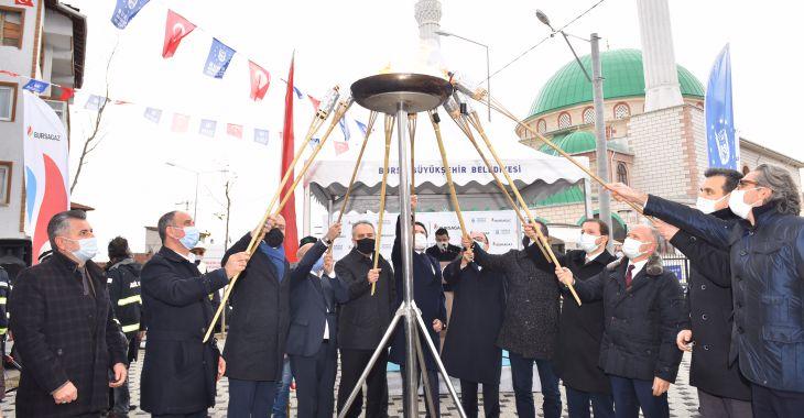 Bursa'nın 3 ilçesi daha doğalgaza kavuştu