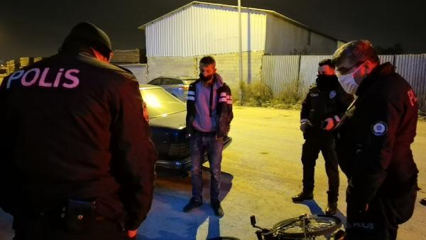Yer: Bursa… Bisikletten düşünce yakalandı, üzerinden uyuşturucu çıktı