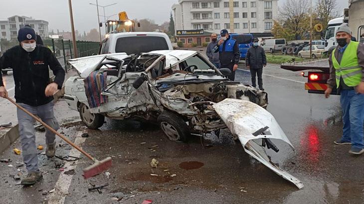 Beş otomobil birbirine girdi: Ölü ve yaralılar var