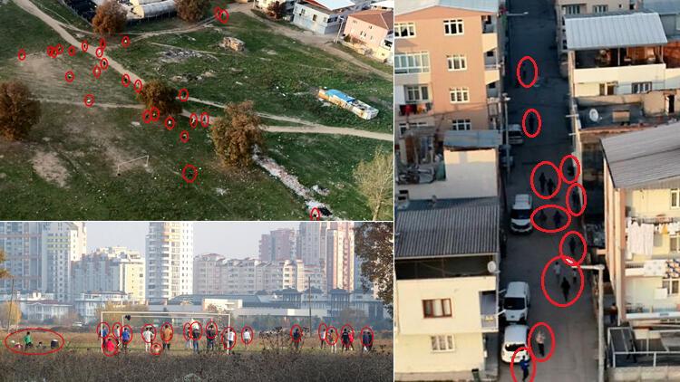 Bursa'da hareketli anlar! Polisi görünce böyle kaçtılar