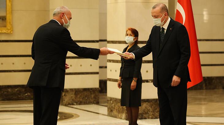 Cumhurbaşkanı Erdoğan, Çekya Büyükelçisini kabul etti