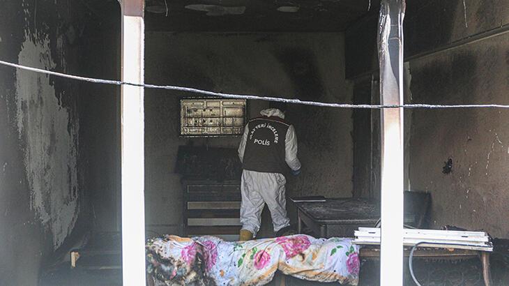 Evdeki yangında 1 yaşındaki Sudenaz öldü!