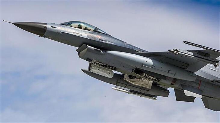 ABD'de F-16 savaş uçağı düştü!
