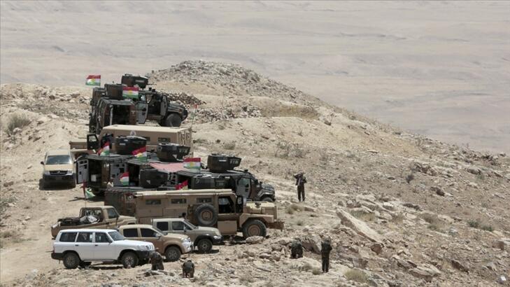 YPG/PKK'dan Peşmerge güçlerine ağır silahlarla saldırı