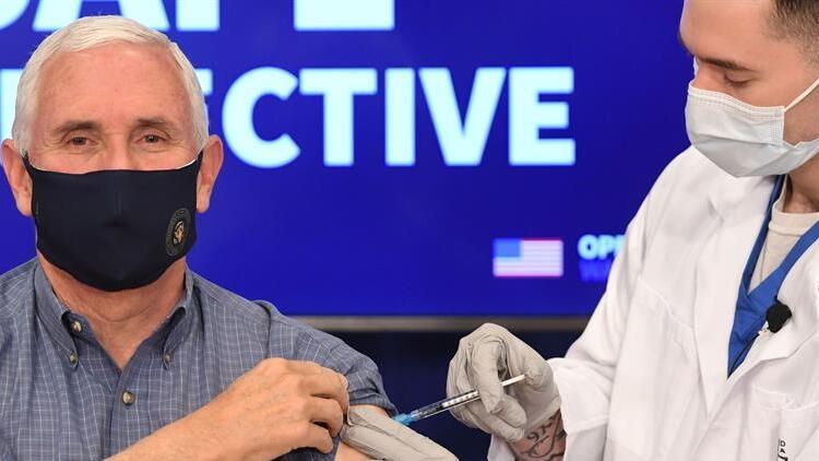 ABD Başkan Yardımcısı Pence, koronavirüs aşısı oldu